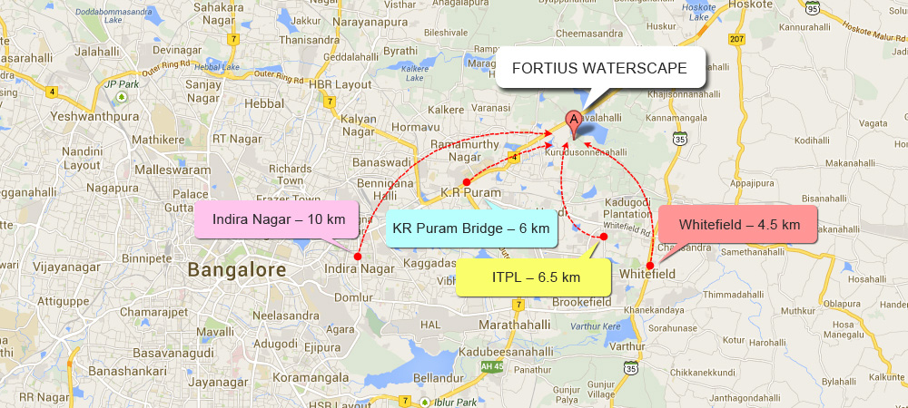 Fortius Waterscape Location