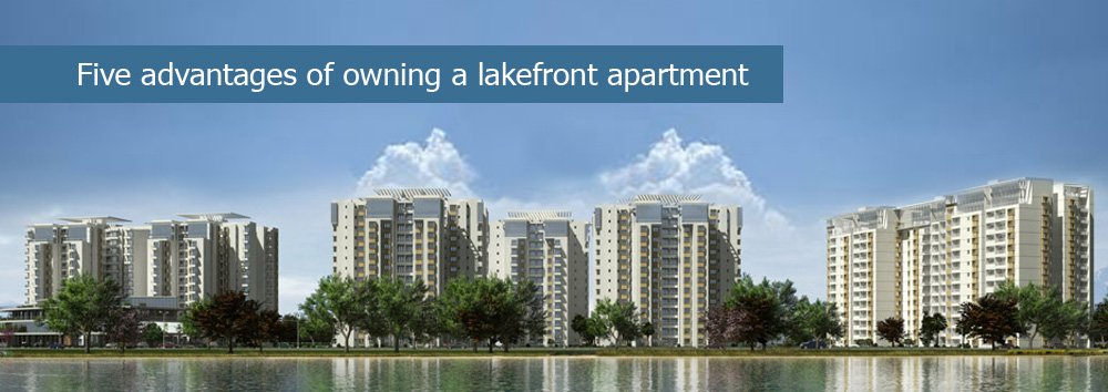 Five Advantages of Owning a Lakefront Apartment