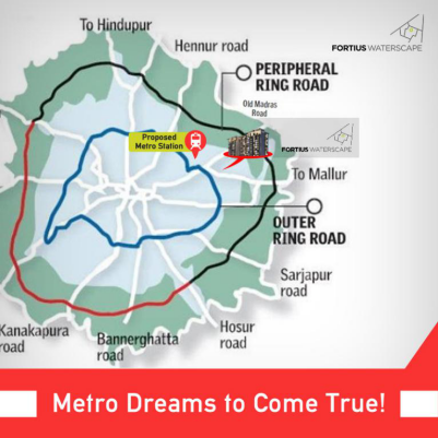 Fortius Waterscape Metro Connectivity